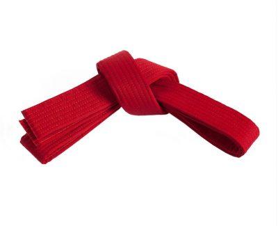 Belt, Red (no stripe)
