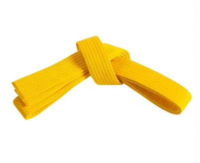 Belt, Yellow (no stripe)