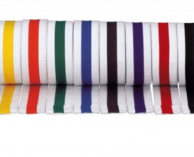 Belt, White Color Stripe